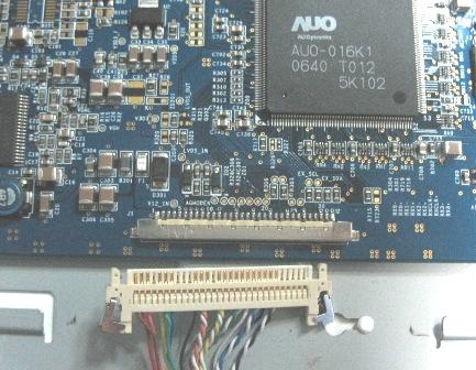 液晶电视内部结构实图---液晶电视维修基础