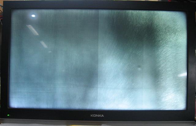 康佳液晶电视机led款图像异常故障快速检修实例(主板检修平台)